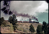 D&amp;RGW #489 K-36 - Maysville, Colorado<br /> D&amp;RGW  Maysville, CO  Taken by LeMassena, Robert A. - 1955
