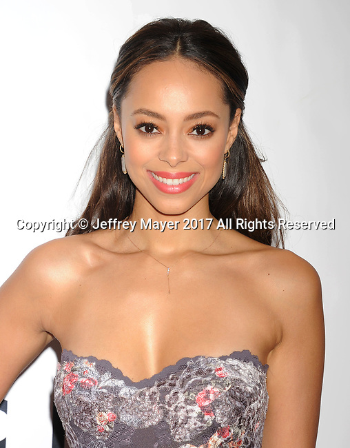 PASADENA, CA - FEBRUARY 11: Actress Amber Stevens West arrives at the 48th NAACP Image Awards at Pasadena Civic Auditorium on February 11, 2017 in Pasadena, California.