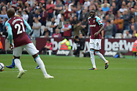 Cheikhou Kouyate of West Ham during West Ham United vs Everton, Premier League Football at The London Stadium on 13th May 2018