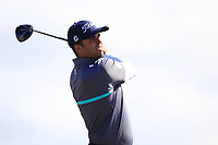 Dimitrios Papadatos (AUS) on the 5th tee during Round 4 of the Betfred British Masters 2019 at Hillside Golf Club, Southport, Lancashire, England. 12/05/19<br /> <br /> Picture: Thos Caffrey / Golffile<br /> <br /> All photos usage must carry mandatory copyright credit (© Golffile | Thos Caffrey)