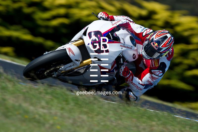 2012 Superbike World Championship, Test, 20-21 February 2012, Phillip Island, Australia, Jonathan Rea, Honda