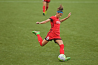 Portland, OR - Saturday, May 21, 2016: Portland Thorns FC forward Nadia Nadim (9). The Portland Thorns FC defeated the Washington Spirit 4-1 during a regular season National Women's Soccer League (NWSL) match at Providence Park.