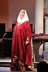 "Guiding Light's Kim Zimmer stars in ""Lion in the Winter"" as Queen Eleanor and Henry II - King of England July 25 through August 6 - this being the Dress Rehearsal at The Barn Theatre, Augusta, Michigan. (Photo by Sue Coflin/Max Photos)"