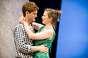 The Faith Machine by Alexi Kaye Campbell directed by Jamie Lloyd. With Hayley Atwell as Sophie, Kyle Soller as Tom. Opens at The Royal Court Theatre on 31/8/11 . CREDIT Geraint Lewis
