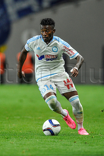 23.09.2015. Toulouse, France. French League 1 football. Toulouse versus Marseille.  Georges NKOUDOU (om)