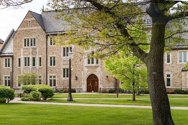 May 10, 2017; Coleman Morse north entrance (Photo by Matt Cashore/University of Notre Dame)