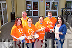 COFFEE TIME: Taking in Irish Cancer Society Relay for Life coffee afternoon the KDYS, Tralee on Saturday l-r: Una Hughes, Alan Hanafin, Sharon Williams, Nora Butler, Massy Murphy and Ciara O'Connor.
