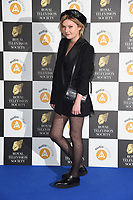 Sophie Kennedy Clarke<br /> arriving for the RTS Awards 2019 at the Grosvenor House Hotel, London<br /> <br /> ©Ash Knotek  D3489  19/03/2019