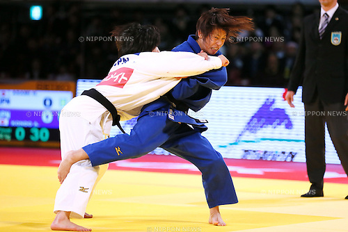 Ami Kondo (JPN), DECEMBER 4, 2015 - Judo : IJF Grand Slam Tokyo 2015 International Judo Tournament Women's -48kg Final at Tokyo Metropolitan Gymnasium, Tokyo, Japan. (Photo by Sho Tamura/AFLO SPORT)