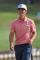 Thorbjorn Olesen (DEN) after sinking his putt on 12 during day 3 of the WGC Dell Match Play, at the Austin Country Club, Austin, Texas, USA. 3/29/2019.<br /> Picture: Golffile | Ken Murray<br /> <br /> <br /> All photo usage must carry mandatory copyright credit (© Golffile | Ken Murray)