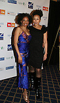 Adriane Lenox & Tamara Tunie participate in Defying Inequality: The Broadway Concert - A Celebrity Benefit for Equal Rights  on February 23, 2009 at the Gershwin Theatre, New York, NY. (Photo by Sue Coflin)