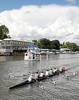 Henley, Great Britain.   St Paul's School, Concord after their afternoon training session  at  Henley Royal Regatta. Henley Reach, England 03.07.2007 [Mandatory credit Peter Spurrier/ Intersport Images] Rowing Courses, Henley Reach, Henley, ENGLAND . HRR.