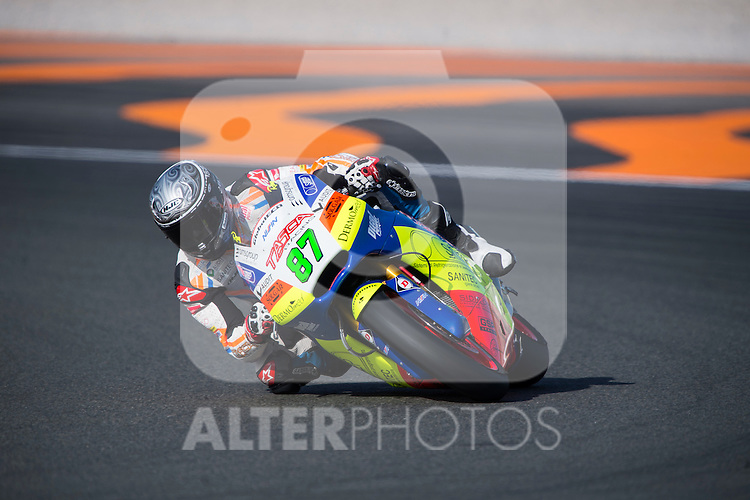 VALENCIA, SPAIN - NOVEMBER 11: Remy Gardner during Valencia MotoGP 2016 at Ricardo Tormo Circuit on November 11, 2016 in Valencia, Spain