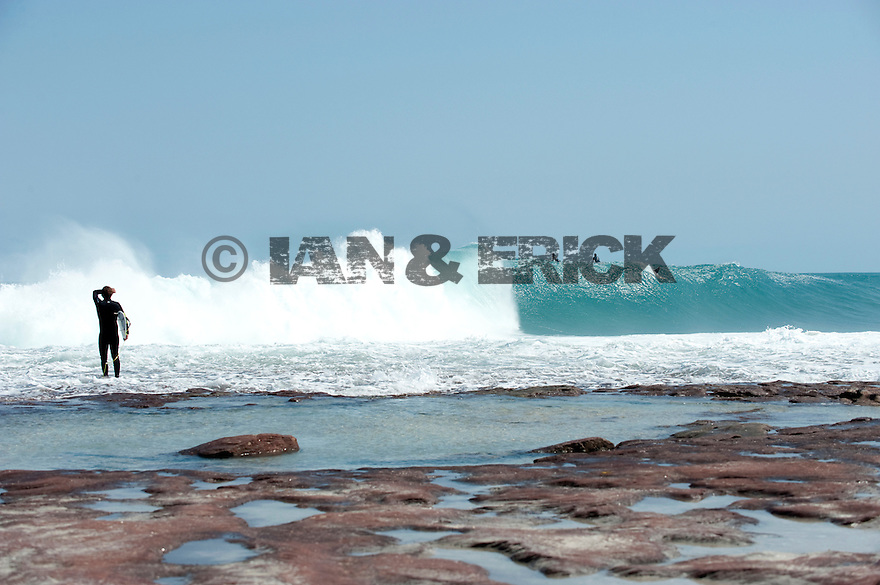 Ry Craike at Jake Pt in Kalbarri, Western Australia.