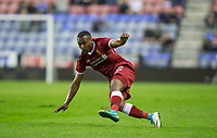 Daniel Sturridge of Liverpool during the pre season friendly match between Wigan Athletic and Liverpool at the DW Stadium, Wigan, England on 14 July 2017. Photo by Andy Rowland.