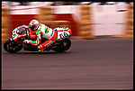 Feb, 1997-Phoenix Raceway. Matt Mladdin of Australia wins the Phoenix Raceway Super bike Championship on a Ducati.