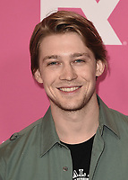 BEVERLY HILLS - AUGUST 6:  Joe Alwyn at the FX Networks Star-Walk red carpet at the Summer 2019 TCA Press Tour at the Beverly Hilton on August 6, 2019 in Los Angeles, California. (Photo by Scott Kirkland/FX Networks/PictureGroup)