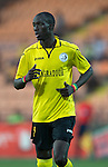 Alashkert FC v St Johnstone...02.07.15   Republican Stadium, Yerevan, Armenia....UEFA Europa League Qualifier.<br /> Mamadou Sekou Fofana<br /> Picture by Graeme Hart.<br /> Copyright Perthshire Picture Agency<br /> Tel: 01738 623350  Mobile: 07990 594431