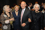 Maconda Brown O'Connor, Mayor Bill White, Isabel Brown Wilson and Nancy Brown Negley at the City of Houston's Birthday Bash at the George R. Brown Convention Center Tuesday Aug. 19,2008.(Dave Rossman/For the Chronicle)