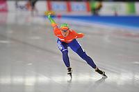 SCHAATSEN: BERLIJN: Sportforum, 06-12-2013, Essent ISU World Cup, 3000m Ladies Division A, Linda de Vries (NED), ©foto Martin de Jong