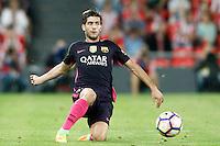 FC Barcelona's Sergi Roberto during La Liga match. August 28,2016. (ALTERPHOTOS/Acero) /NORTEPHOTO