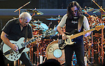 Rush performs on April 3, 2011 at the Bridgestone Arena in Nashville, Tenn. (Photo by Frederick Breedon)