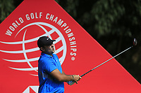 Patrick Reed (USA) on the 9th tee during the final round of the WGC HSBC Champions, Sheshan Golf Club, Shanghai, China. 03/11/2019.<br /> Picture Fran Caffrey / Golffile.ie<br /> <br /> All photo usage must carry mandatory copyright credit (© Golffile | Fran Caffrey)