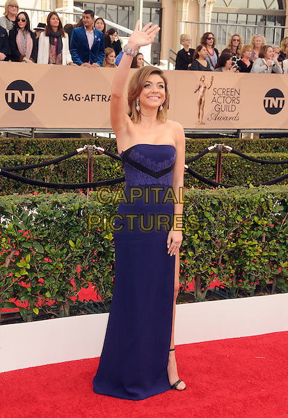 30 January 2016 - Los Angeles, California - Sarah Hyland. 22nd Annual Screen Actors Guild Awards held at The Shrine Auditorium.      <br /> CAP/ADM/BP<br /> &copy;BP/ADM/Capital Pictures
