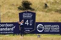 Ross Fisher (ENG) on the 4th tee during Round 1 of the Aberdeen Standard Investments Scottish Open 2019 at The Renaissance Club, North Berwick, Scotland on Thursday 11th July 2019.<br /> Picture:  Thos Caffrey / Golffile<br /> <br /> All photos usage must carry mandatory copyright credit (© Golffile | Thos Caffrey)