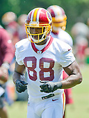 Washington Redskins wide receiver Pierre Garcon (88) participates in drills at the Veteran Minicamp at Redskins Park in Ashburn, Virginia on Tuesday, June 14, 2016.<br /> Credit: Ron Sachs / CNP