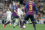 Real Madrid CF's Luka Modric and FC Barcelona's Sergio Busquets during La Liga match. March 02,2019. (ALTERPHOTOS/Alconada)