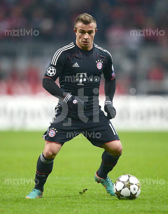 FUSSBALL   CHAMPIONS LEAGUE   SAISON 2012/2013   GRUPPENPHASE   FC Bayern Muenchen - FC Bate Borisov              05.12.2012 Xherdan Shaqiri (FC Bayern Muenchen)