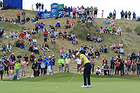 Rafa Cabrera Bello (ESP) on the 14th during Round 4 of the Irish Open at LaHinch Golf Club, LaHinch, Co. Clare on Sunday 7th July 2019.<br /> Picture:  Thos Caffrey / Golffile<br /> <br /> All photos usage must carry mandatory copyright credit (© Golffile | Thos Caffrey)