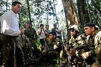 Ministro de Defensa en el Darien ,Nudo de Paramillo visita soldados