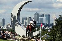 LONDRES, INGLATERRA, 30 JULHO 2012 - OLIMPIADAS 2012 - CROSS COUNTRY - O atleta Jonelle Richards da Australia durante a prova do Cross Country nas  Olimpiadas de Londres, nesta segunda-feira, 30. (FOTO: PIXATHLON / BRAZIL PHOTO PRESS).