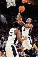 Wednesday, January 4, 2016: Providence Friars forward Rodney Bullock (5) takes the ball to the basket during the NCAA basketball game between the Georgetown Hoyas and the Providence Friars held at the Dunkin Donuts Center, in Providence, Rhode Island. Providence defeats Georgetown 76-70 in regulation time. Eric Canha/CSM