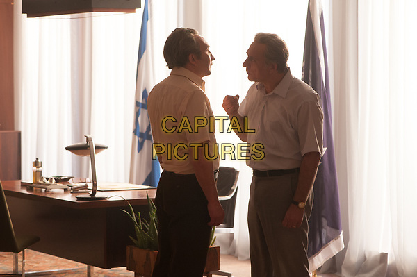 7 Days in Entebbe (2018) <br /> Eddie Marsan &amp; Lior Ashkenazi<br /> *Filmstill - Editorial Use Only*<br /> CAP/MFS<br /> Image supplied by Capital Pictures
