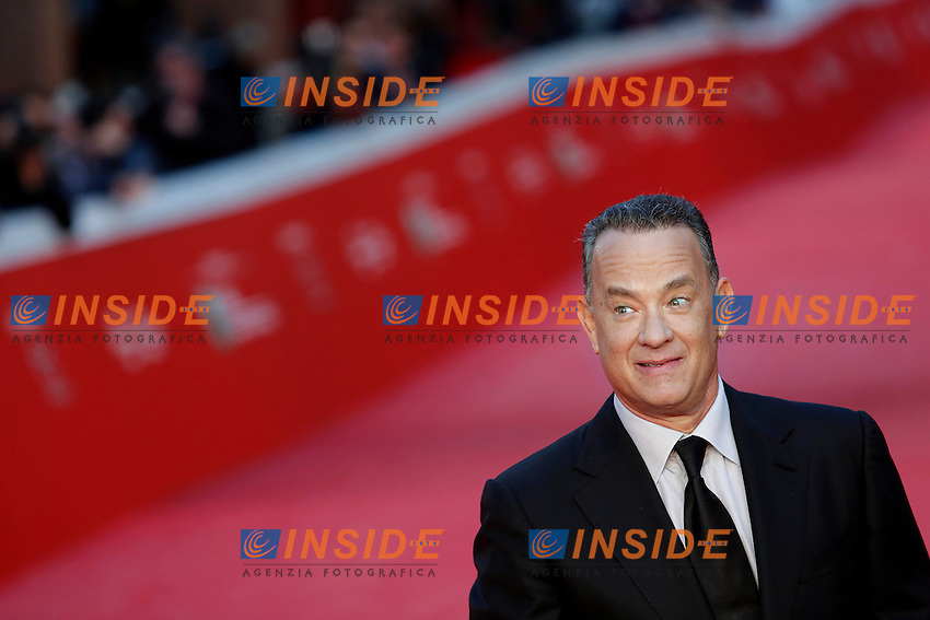 Tom Hanks <br /> Roma 13-10-2016. Festa del Cinema di Roma XI edizione<br /> Rome 13th October 2016. Rome Film Fest XI edition.<br /> Foto Samantha Zucchi Insidefoto