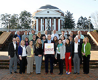 Portrait of employees at Shine Technologies in Charlottesville, VA. Photo/Andrew Shurtleff