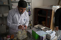 The Hamoon clinic in Farah province Afghanistan. 18-1-14 The Hamoon clinic in Farah province Afghanistan was founded by MP and activist Malalai Joya in 2003. It provides healthcare to women and children from some of the poorest communities in the country. It is funded by donations from abroad and run by the Organisation for Promoting Afghan Womens Capabilities (OPAWC). Drugs are dispensed from the clinic pharmacy.