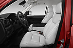 Front seat view of a 2018 Toyota Tundra SR 4.6L Double Cab Standard Bed 4 Door Pick Up front seat car photos