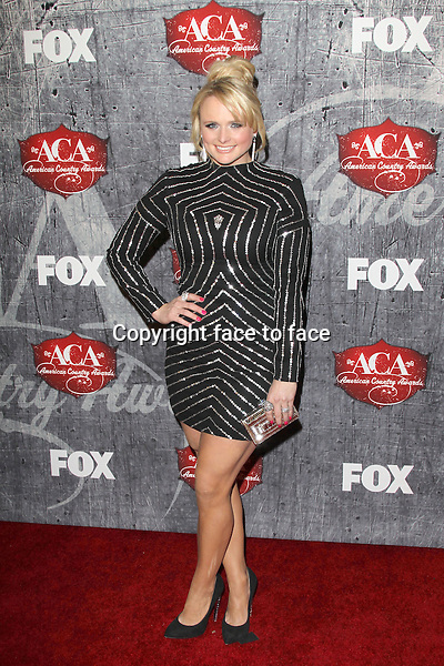 Miranda Lambert (wore a Reem Acra Fall 2012 dress, Giuseppe Zanotti Design shoes, Jacob & Co. jewelry and a Judith Leiber clutch) at the 2012 American Country Awards at the Mandalay Bay Events Center in Las Vegas, Nevada, 10.12.2012...Credit: MediaPunch/face to face..- Germany, Austria, Switzerland, Eastern Europe, Australia, UK, USA, Taiwan, Singapore, China, Malaysia and Thailand rights only -
