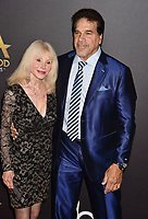 BEVERLY HILLS, CA - NOVEMBER 04: Carla Ferrigno (L) and Lou Ferrigno arrive at the 22nd Annual Hollywood Film Awards at the Beverly Hilton Hotel on November 4, 2018 in Beverly Hills, California.<br /> CAP/ROT/TM<br /> &copy;TM/ROT/Capital Pictures