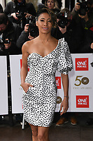 LONDON, UK. March 12, 2019: Karen Clifton arriving for the TRIC Awards 2019 at the Grosvenor House Hotel, London.<br /> Picture: Steve Vas/Featureflash