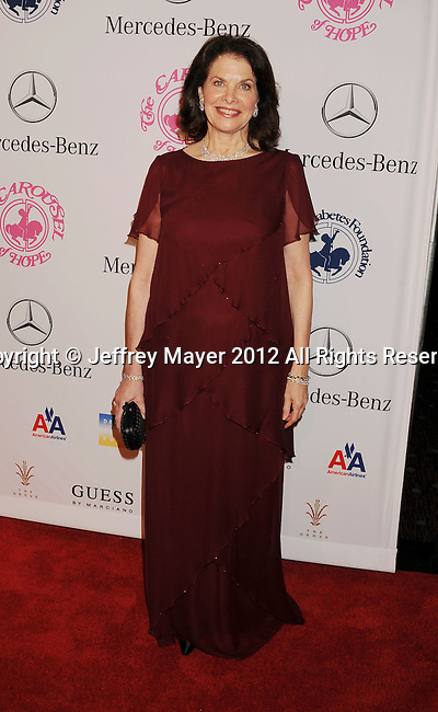 BEVERLY HILLS, CA - OCTOBER 20: Sherry Lansing  arrives at the 26th Anniversary Carousel Of Hope Ball presented by Mercedes-Benz at The Beverly Hilton Hotel on October 20, 2012 in Beverly Hills, California.