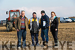 Clashmealcon, Causeway Ploughing Match at Houlihan's farm on Sunday Pictured were l-r  J P Corridan, Philip Cotter, Dave Mulcahy and Aileen Corridan