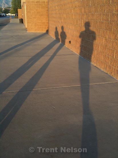 Monday, July 27 2009.nelson shadows going to movie. trent shadow