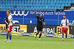 Sandhausens Dennis Diekmeier jubelt nach seinem 1:5 Treffer beim Spiel Hamburger SV gegen den  SV Sandhausen in Hamburg / 280620<br /><br />*** Football - nph00001,  2. Bundesliga: Hamburg SV vs SV Sandhausen, Hamburg, Germany - 28 Jun 2020 ***<br /><br />Only for editorial use. (DFL/DFB REGULATIONS PROHIBIT ANY USE OF PHOTOGRAPHS as IMAGE SEQUENCES and/or QUASI-VIDEO)<br />FOTO: Ibrahim Ot/action press/POOL/nordphoto *** Local Caption *** [4::31065106]