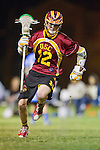 Los Angeles, CA 04/21/10 - Erik Trelenberg (USC #12) in action during the cross town rivalry game between USC and UCLA, UCLA defeated USC 10-9 and secured a quarterfinal position in the MCLA-SLC playoff bracket.