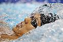 Takuto Ueki (JPN), APRIL 10, 2011 - Swimming : 2011 International Swimming Competitions Selection Trial, Men's 200m Backstroke Heat at ToBiO Furuhashi Hironoshin Memorial Hamamatsu City Swimming Pool, Shizuoka, Japan. (Photo by Daiju Kitamura/AFLO SPORT) [1045]